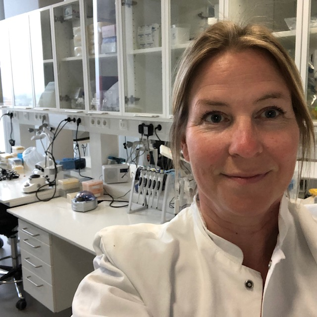 A photo of CBMR Lab Manager Fie Hillesø